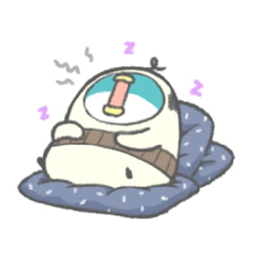 PP mini 小小企鵝 -小老頭 (1) - Sticker 10