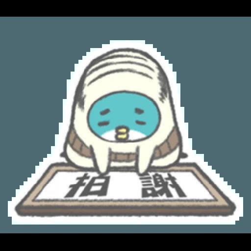 PP mini 小小企鵝 -小老頭 (1) - Sticker 7