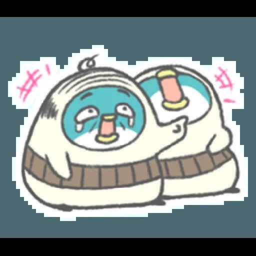 PP mini 小小企鵝 -小老頭 (1) - Sticker 20
