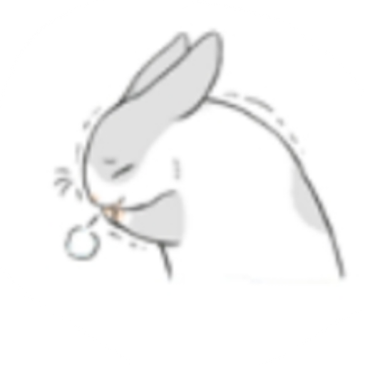 Rabbit-Yes/No/Dunno/Ok - Sticker 3