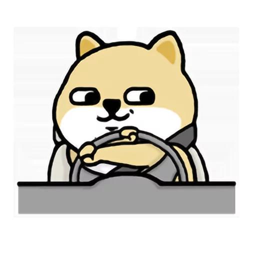 LittleFatShibainu3 - Sticker 9