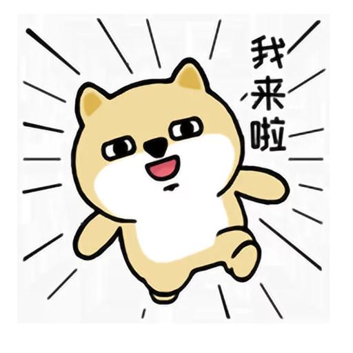 LittleFatShibainu3 - Sticker 4