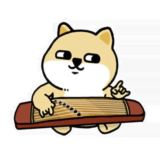 LittleFatShibainu3 - Sticker 26