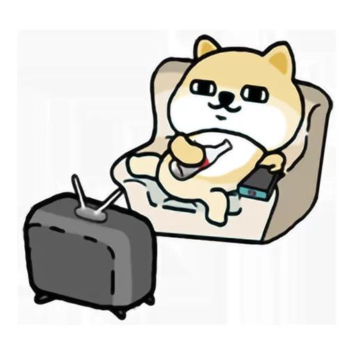 LittleFatShibainu3 - Sticker 11