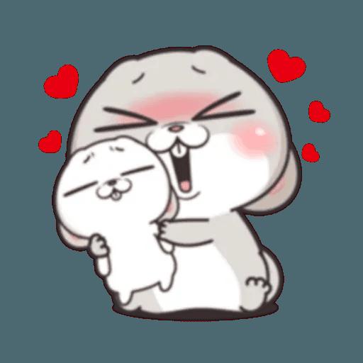 Cute Rabbit 1 - Sticker 18