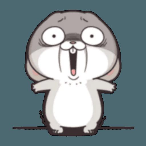 Cute Rabbit 1 - Sticker 8