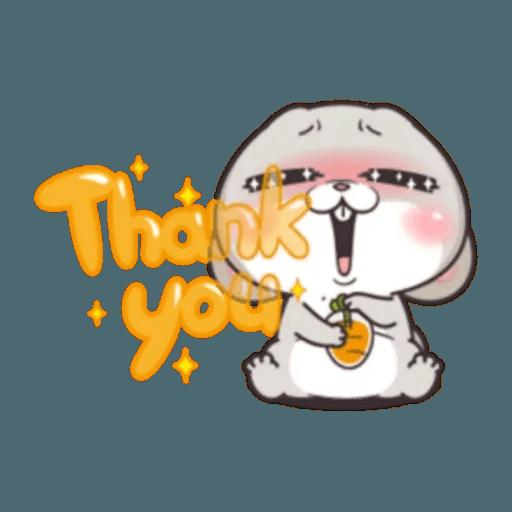 Cute Rabbit 1 - Sticker 29