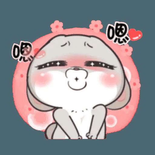 Cute Rabbit 1 - Sticker 25