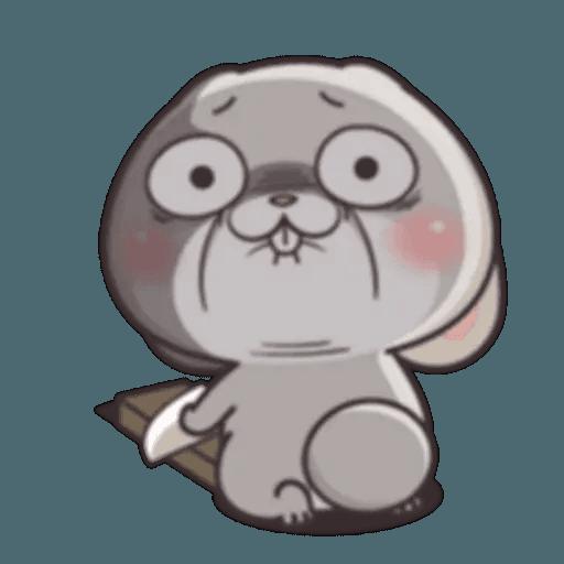Cute Rabbit 1 - Sticker 14