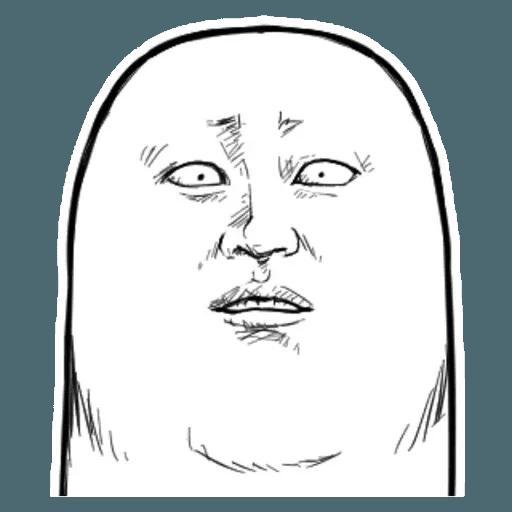 Fingerface - Sticker 27