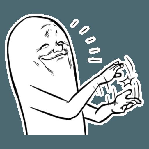 Fingerface - Sticker 3