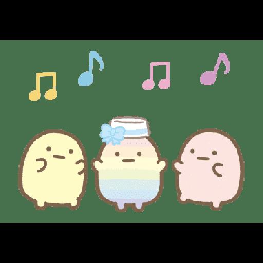 すみっコぐらし たぴおかパーク - Sticker 23