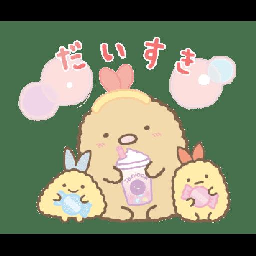 すみっコぐらし たぴおかパーク - Sticker 4
