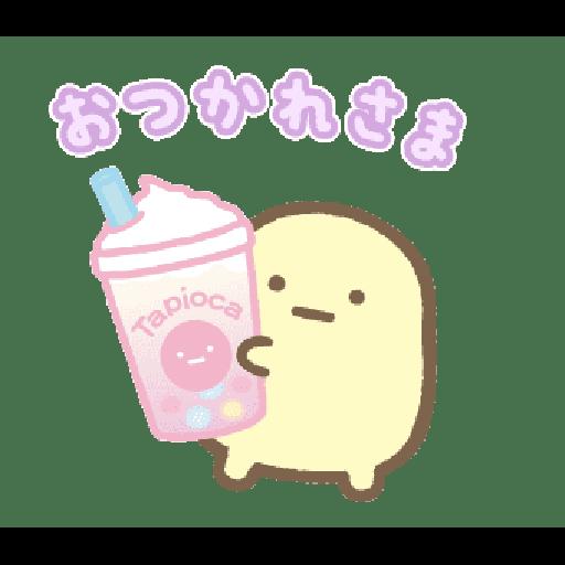 すみっコぐらし たぴおかパーク - Sticker 18