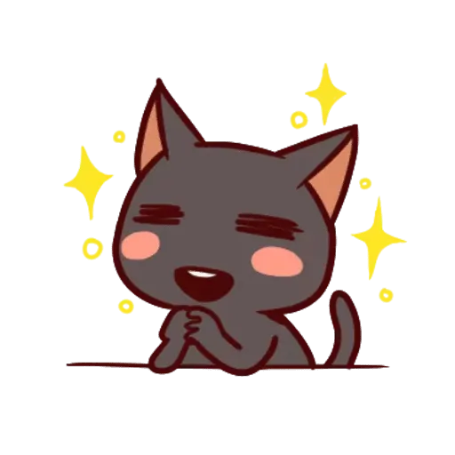 Black Cat - Sticker 1