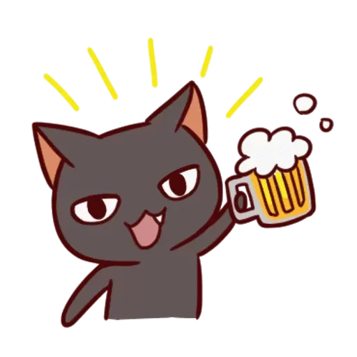 Black Cat - Sticker 19