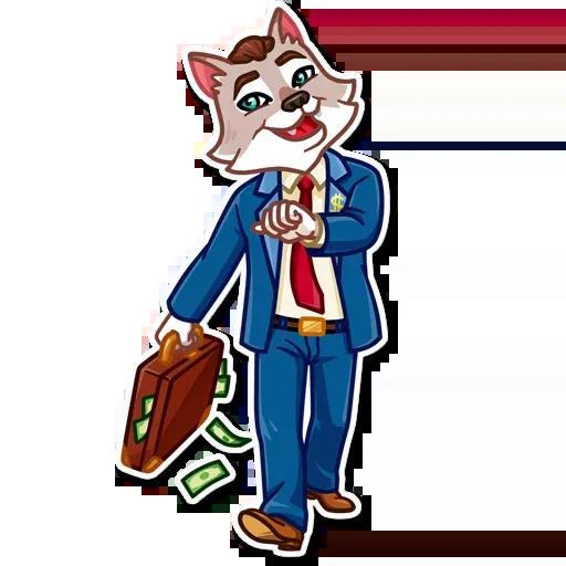 The Wolf - Sticker 11