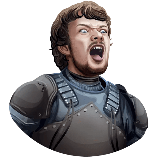 Games Of Thrones - Sticker 20