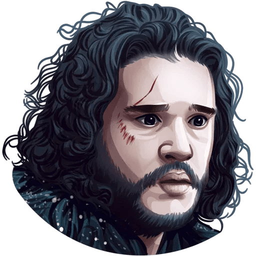 Games Of Thrones - Sticker 9