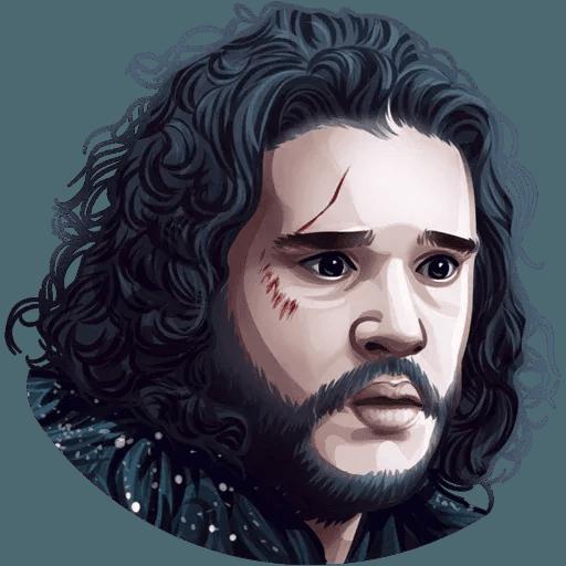 Games Of Thrones - Sticker 9