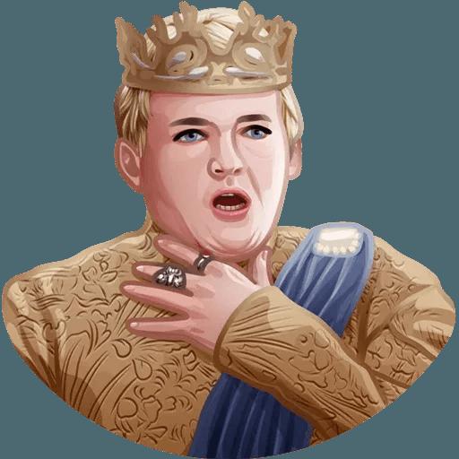 Games Of Thrones - Sticker 15