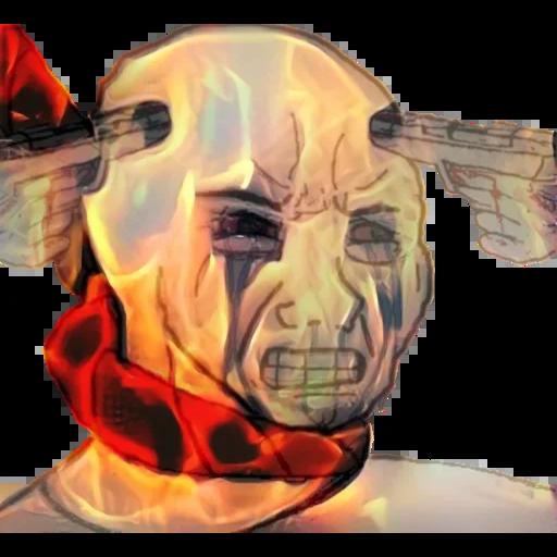 cursed - Sticker 17