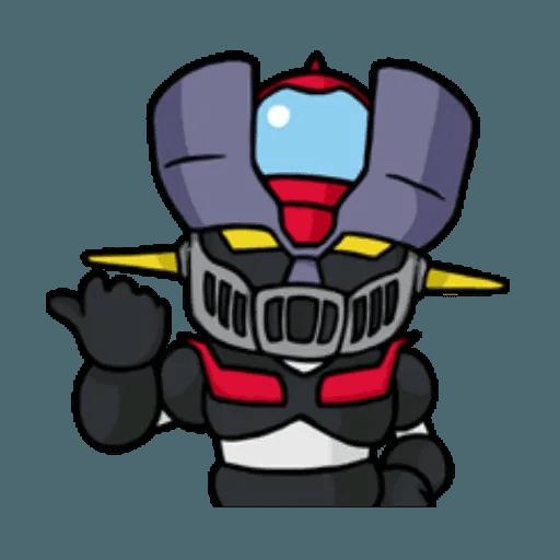 Mazinger & pokemon - Sticker 8