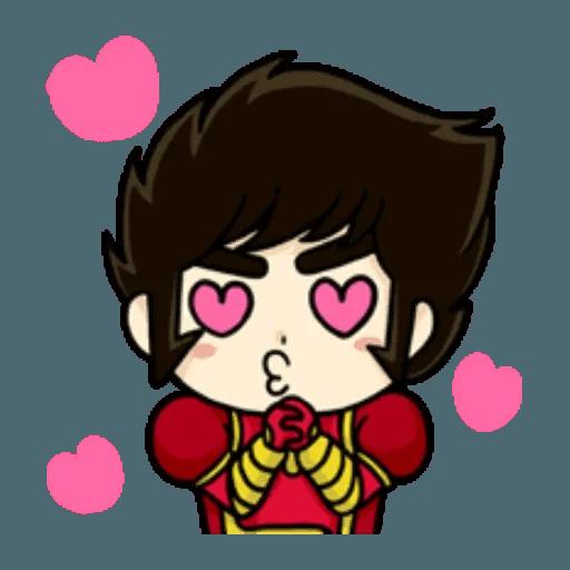 Mazinger & pokemon - Sticker 10