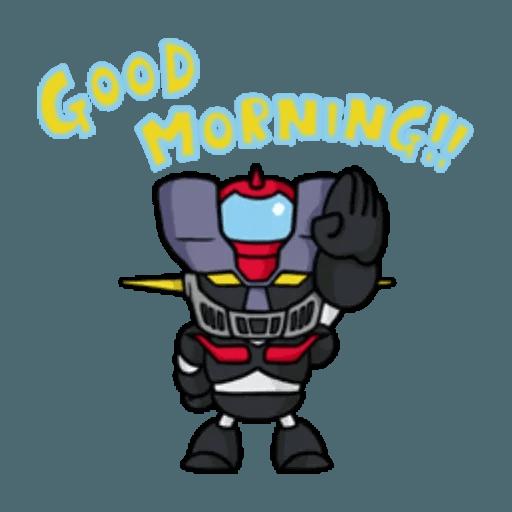 Mazinger & pokemon - Sticker 24