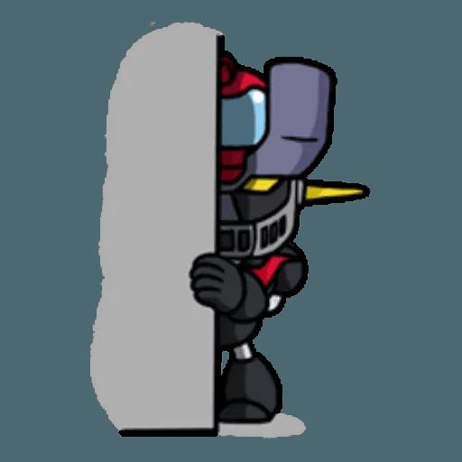 Mazinger & pokemon - Sticker 20