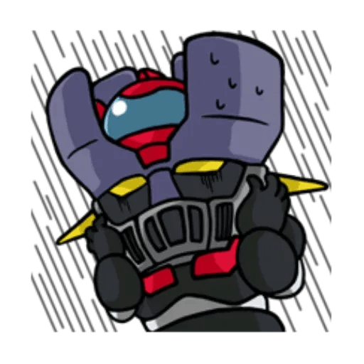 Mazinger & pokemon - Sticker 23