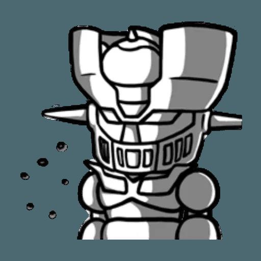 Mazinger & pokemon - Sticker 29