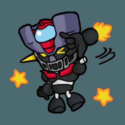 Mazinger & pokemon - Sticker 21