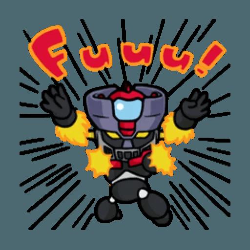 Mazinger & pokemon - Sticker 28