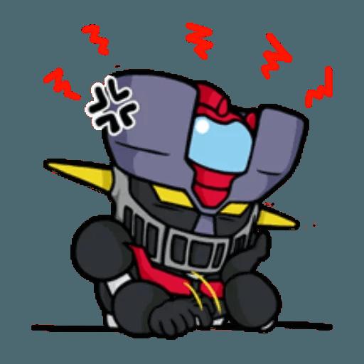 Mazinger & pokemon - Sticker 15