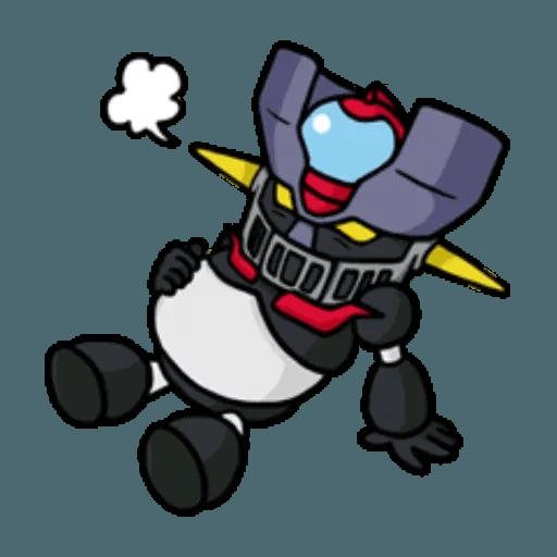 Mazinger & pokemon - Sticker 18
