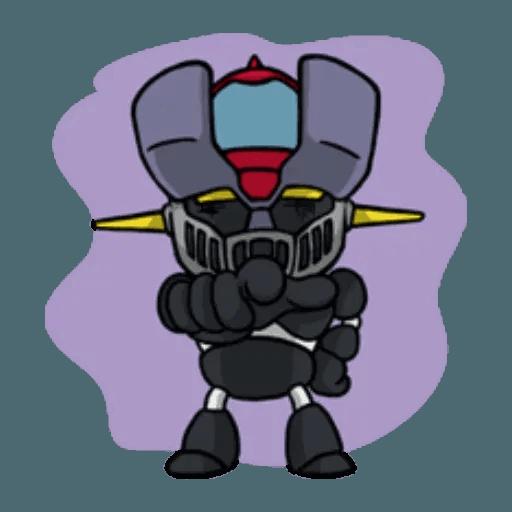 Mazinger & pokemon - Sticker 30