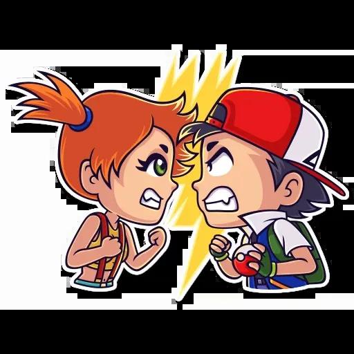 Mazinger & pokemon - Sticker 11