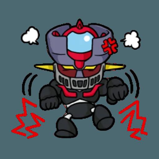Mazinger & pokemon - Sticker 27
