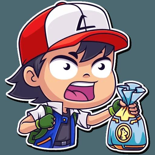 Mazinger & pokemon - Sticker 2