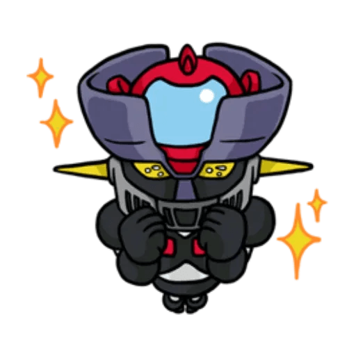 Mazinger & pokemon - Sticker 25