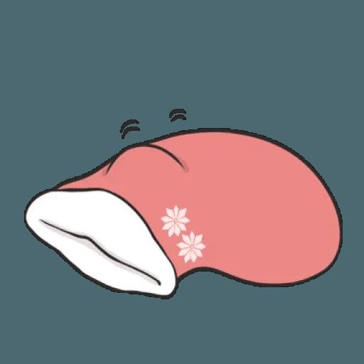 Rabbit Christmas - Sticker 1