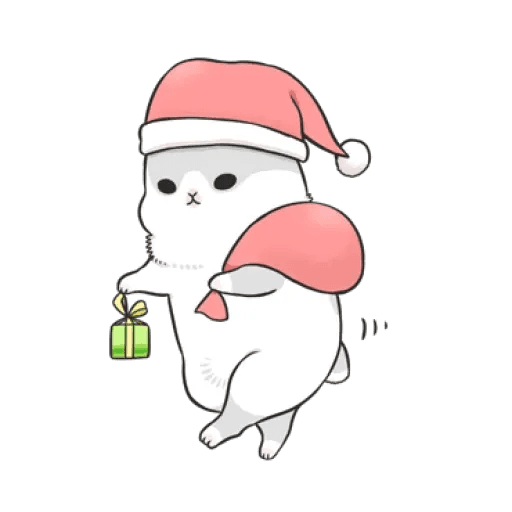 Rabbit Christmas - Sticker 5