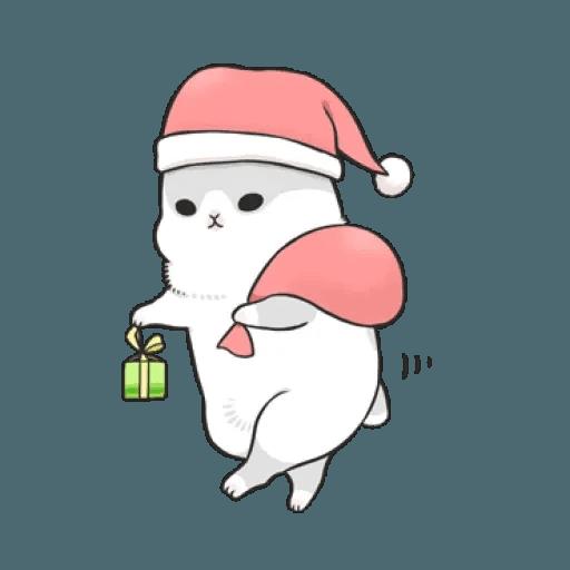 Rabbit Christmas - Sticker 5
