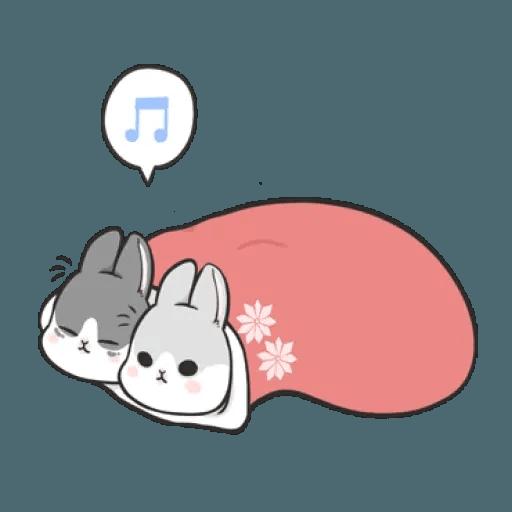 Rabbit Christmas - Sticker 4