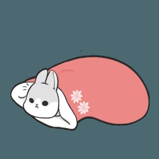 Rabbit Christmas - Sticker 2