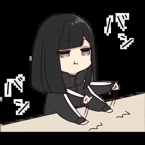 Yurudara-chan - Sticker 6