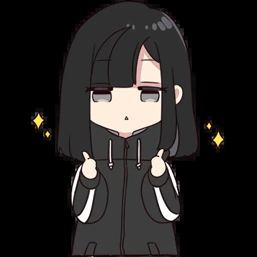 Yurudara-chan - Sticker 1
