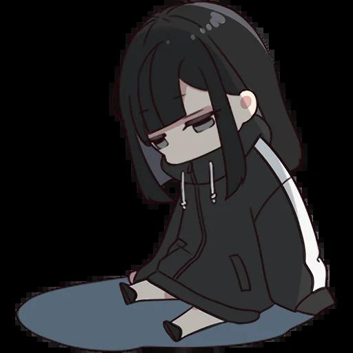 Yurudara-chan - Sticker 21