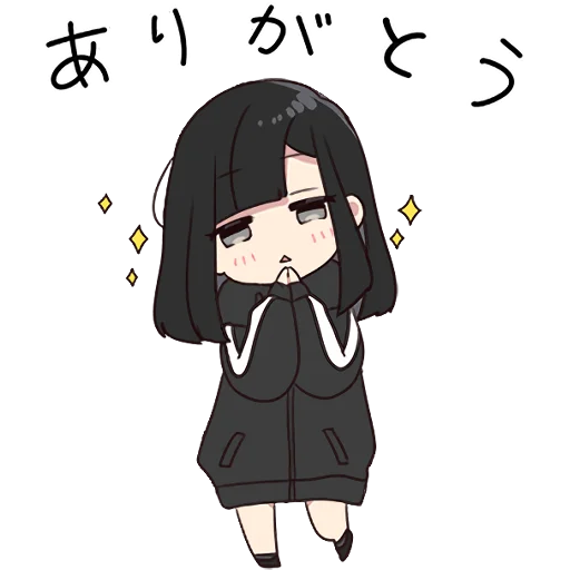 Yurudara-chan - Sticker 5